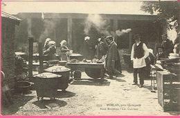 29 - MOËLAN Près QUIMPERLÉ - Noce Bretonne - Les Cuisines . Collection H. Laurent , Port-Louis N° 3553 - Marriages