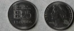 Portugal 25   Escudos 1983   Km#607 A  -  Ttb - Portugal