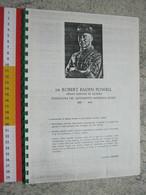 WL 1970 SCOUTS SCAUTISMO SCOUTING JAMBOREE STORIA DELLO SCAUTISMO VINTAGE FOTOCOPIE RILEGATE 40 PAG. - Scoutisme