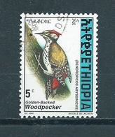 1998 Ethiopia Birds,oiseaux,vögel,Woodpecker Used/gebruikt/oblitere - Ethiopië