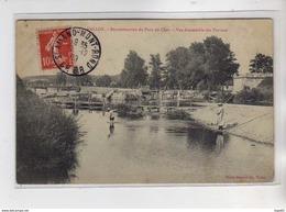 VALLON - Reconstruction Du Pont Du Cher - Vue D'ensemble Des Travaux - état - Autres Communes