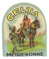 Brasserie / Brouwerij MEIRESONNE GENT / GAND - Ancienne étiquette / Oud Etiket CELTA - Bière - Bier - Prima ! Superbe ! - Bière