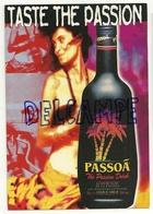 Carte Boomerang. Publicité. Passoa. Taste The Passion - Advertising