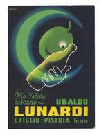 CARTOLINA POSTALE OLIO DI OLIVA UBALDO LUNARDI PISTOIA  Illustratore  ADRIANI - Advertising