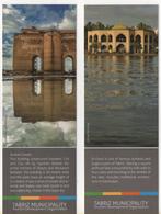 Seg076 Segnalibro Bookmarks Signets Tourism Organization Tabriz Iran Alishah Citadel El-Gholi Architecture Architettura - Segnalibri