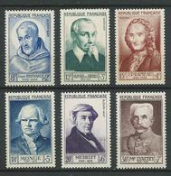 FRANCE 1953 . Série N°s 945 à 950 . Neufs **  (MNH) - France