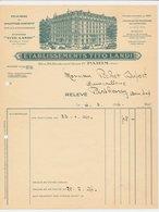 Factuur / Brief Paris 1931 - Etablissements Tito Landi - 1900 – 1949