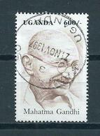 1997 Uganda Ghandi Used/gebruikt/oblitere - Oeganda (1962-...)