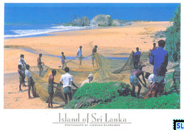 Sri Lanka Postcards, Fishermen, People, Postcrossing - Sri Lanka (Ceylon)