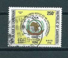1996 Cameroon OAU 250F. Used/gebruikt/oblitere - Kameroen (1960-...)