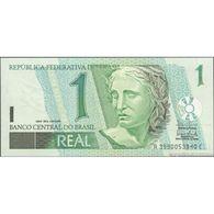 TWN -  BRAZIL 251 - 1 Real 2003 Various Series - Signatures: Filho & Meirelles UNC - Brasile