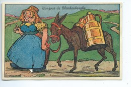Blankenberge Blankenberghe   Carte à Système - Blankenberge
