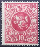 1919 LITHUANIA MVLH The First Edition Of Berlin - Lithuania