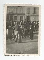 Photographie Argelest Gazost 65 Arrestation Allemands Cachet 31 Aout 1944 Photo 6x8,5 Cm Env - Guerra, Militares