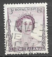 1953 Royal Visit, 3d, Used - New Zealand