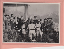 RARE OLD POSTCARD -    SCOUTING - 1937 - WORLD JAMBOREE - BADEN POWELL - PRINCE BERNHARD - Scouting
