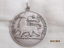 Ethiopia: Medal Ethiopia Uncrowned Lion - Obj. 'Souvenir De'