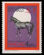 Macau 1990 - Mi-Nr. 639 C ** - MNH - Pferd / Horse - 1999-... Sonderverwaltungszone Der China