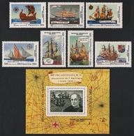 Madagaskar 1991 - Mi-Nr. 1316-1322 & Block 165 ** - MNH - Schiffe / Ships - Madagaskar (1960-...)