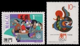 Macau 1992 - Mi-Nr. 710 & 711 ** - MNH - 2 Ausgaben - 1999-... Sonderverwaltungszone Der China
