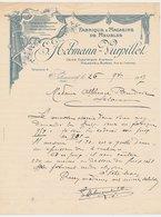 Factuur / Brief Seloncourt 1907 - Fabrique & Magasins De Meubles - Frankrijk
