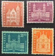 Schweiz Suisse 1963: Rollenmarke MIT NUMMER Rouleaux Avec No. Au Verso Coil With # Zu 391-394RM.01 ** MNH (Zu CHF 44.50) - Rouleaux