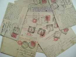 Lotto 10 Cartoline Postali  Primi 900 CORRISPONDENZA   Castellaneta  Provincia Di   Lecce - Timbres (représentations)