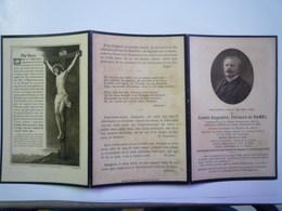 FAIRE-PART De Décès Du Comte Augustin , Fernand De  RAMEL  Ancien Député Du Gard   1915   XXX - Décès