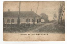 Berchem Brouwerij H. Martroye Oude Postkaart Brasserie Antwerpen - Belgique