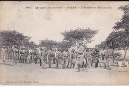 SENEGAL---DAKAR--tirailleurs Sénégalais-afrique Occidentale--voir 2 Scans - Sénégal