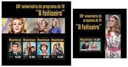 Mozambique 2014, TV A Feiticeira, Klb + S/s MNH - Timbres