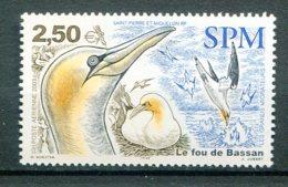 10790 SAINT-PIERRE Et MIQUELON  PA83 ** 2€50  Les Grands Migrateurs : Le Fou De Bassan  2003 TTB - Airmail