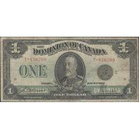 TWN - CANADA 33f - 1 Dollar 2.7.1923 T - 850709 VG/F - Canada