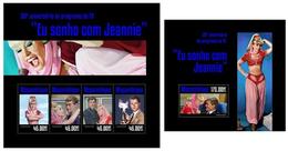 Mozambique 2014, TV Eu Sonho Com Jeannie, Klb + S/s MNH - Timbres