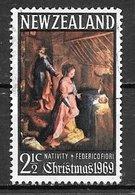 1969 Christmas, 2-1/2 Cents, Used - New Zealand