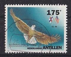 Nederlandse Antillen - 200 Jaar Consulaat-generaal In De V.S. - Arend  - Gebruikt - NVPH 1045 - Curaçao, Nederlandse Antillen, Aruba