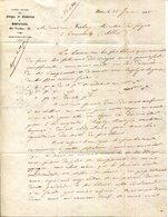 PARIS.SOCIETE ANONYME DES FORGES & FONDERIES DE MONTATAIRE 21 RUE VENDOME. - 1800 – 1899