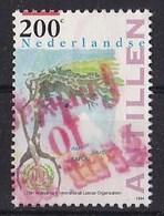 Nederlandse Antillen - 75 Jaar Internationale Arbeidsorganisatie (ILO) - Gebruikt - NVPH 1065 - Curaçao, Nederlandse Antillen, Aruba