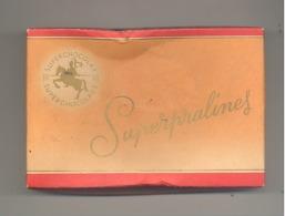 Boîte En Carton - Superpralines - Chocolaterie JACQUES à EUPEN ( Verviers) - Chocolat - Boîtes