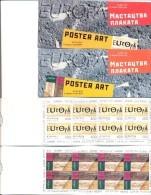 2003. Belarus, Europa 2003, 2 Booklets, Mint/** - Belarus
