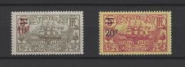 NOUVELLE-CALEDONIE. YT  N° 137 Et 138  Neuf *  1924-27 - Neufs