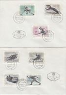 ÖSTERREICH 1963 - MiNr: 1136-1142 Komplett  FDC Beleg - FDC