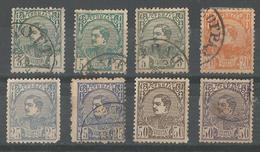 1881 Prince Milan Yt 27-31 - Serbia