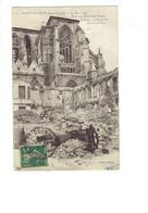 Cpa Militaria - 02 -  Saint Quentin Après Guerre - Basilique Place Enfants De Choeur - Travaux échafaudage - N.G. 13 - Saint Quentin