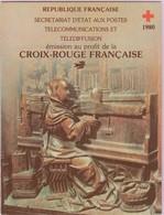 N° Yvert&Tellier 2029 - Carnet Au Profit De La Croix-Rouge - Stalles De La Cathédrale D'Amiens (1) - Carnets
