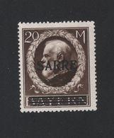 Faux Sarre N° 31A 20 M Gomme Charnière - 1920-35 Saargebiet – Abstimmungsgebiet