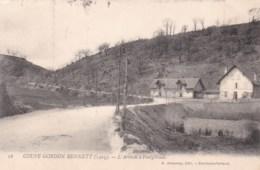 Coupe Gordon Bennett (1905) - Editions Delaunay - 16 - L'Arrivée à Pontgibaud. - Auvergne