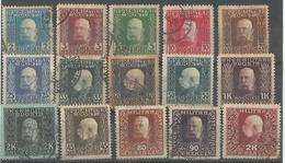 Francois Joseph (timbres Diverses) - Bosnie-Herzegovine