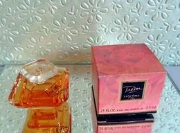 """Miniature  """"TRÉSOR """" De LANCÔME  Eau De Parfum 7,5 Ml Dans Sa Boite  (M076-3) - Miniatures Femmes (avec Boite)"""