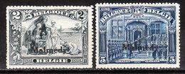 OC76/77*  Timbre De 1915 Surchargé MALMEDY - 2 Bonnes Valeurs - MH* - LOOK!!!! - Guerre 14-18